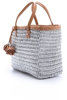 Tory Burch Chunky Straw Tote