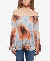 Jessica Simpson Off-The-Shoulder Peasant Top