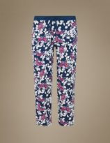 Marks and Spencer Butterfly Print Cropped Pyjama Bottoms