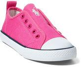 Ralph Lauren Ryland Canvas Laceless Sneaker