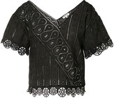 Opening Ceremony broderie anglaise blouse - women - Cotton - 2