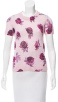 Kate Spade Rose Print Crew Neck Sweater w/ Tags