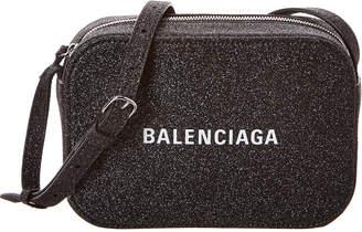Balenciaga Everyday Xs Glitter Leather Camera Bag