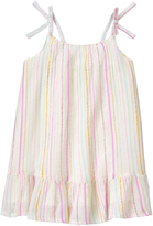 Crazy 8 Pink & White Stripe Lurex Dress - Infant & Toddler