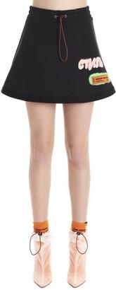 Heron Preston A-Line Mini Skirt