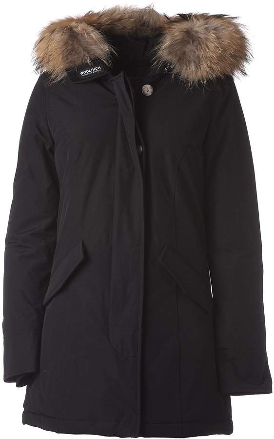 Woolrich Black Down Parka