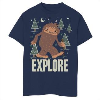 Fifth Sun Boys 8-20 Bigfoot Explore Outdoor Graphic Tee