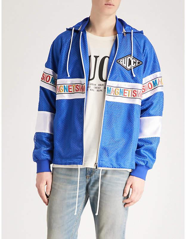 Gucci Magnetismo mesh jacket