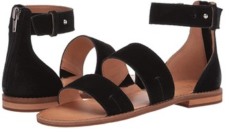 Frye Evie 2 Band Sandal (Snake Multi Embossed Leather/Suede/Waxy Full Leather) Women's Sandals