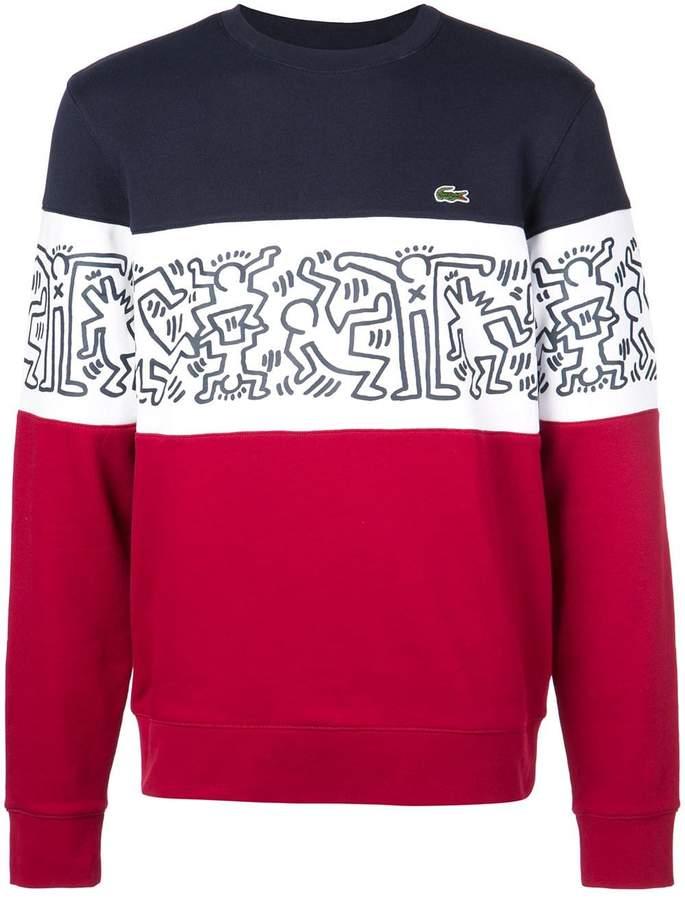 Lacoste X KEITH HARING sweatshirt