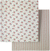 Cath Kidston Hankie Rose Two Pack Fitted Sheets