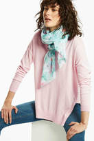 Joules Lightweight Print Scarf