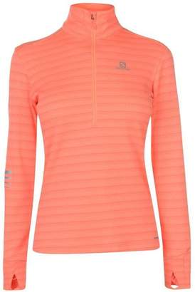 Salomon Half Zip Top Ladies