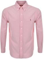 Ralph Lauren Core Oxford Shirt Pink