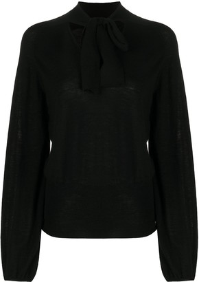 Temperley London Tied Neck Blouse