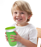 Munchkin Green & Blue Miracle 360 ̊ 10-Oz. Sippy Cup - Set of Two