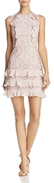 Parker Zahara Ruffled Tiered-Hem Dress