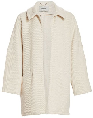 Rachel Comey Husk Chevron Wool-Blend Coat