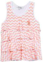 3 Pommes Girl's Neon Beach T-Shirt