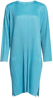Pleats Please Issey Miyake Monthly Colors January Shift Dress