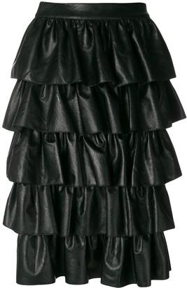 Stella McCartney Ruffle Midi Skirt