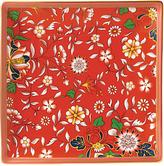 Wedgwood Wonderlust Jewel Tea Tray, Crimson/Multi, 14.5cm