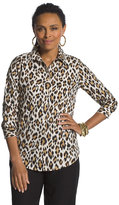 Chico's Love Leopard Lisa Shirt