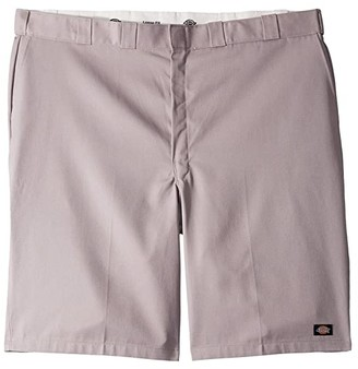 Dickies 13 Multi-Use Pocket Work Short Extended Waist Sizes (Silver Green) Men's Shorts