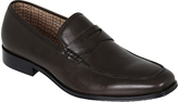 Oxford Andre Mens Leather Shoes Dk Brn X