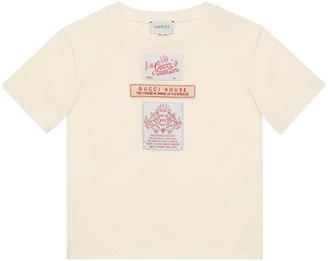 Gucci Children's T-shirt with labels