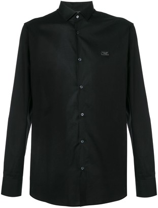 Philipp Plein back skull shirt