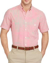 Chaps Short-Sleeve Gingham Sport Shirt