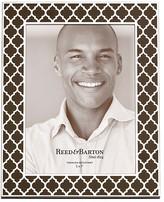 """Reed & Barton Espresso Kasbah 5 x 7"""" Frame"""
