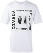 Helmut Lang x Travis Scott cowboy print T-shirt - men - Cotton/Modal - XL