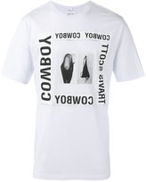 Helmut Lang x Travis Scott cowboy print T-shirt