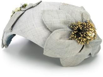 A.N.G.E.L.O. Vintage Cult 1950s Floral Detail Hat