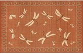 Liora Manné Trans Ocean Imports Terrace Dragonfly Indoor Outdoor Rug
