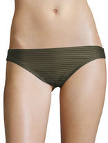Michael Kors Ribbed Hipster Bikini Bottom