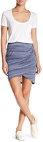 Lily White Space Dye Tulip Skirt