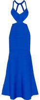 Herve Leger Marcella Cutout Bandage Gown