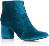 Oasis Velvet Kitty Boots