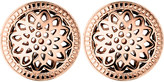 Links of London Timeless 18ct rose-gold vermeil stud earrings