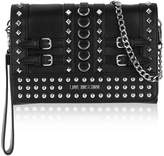 LOVE MOSCHINO Studded Logo Shoulder Bag