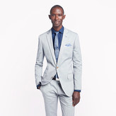Ludlow suit jacket with double vent in Italian oxford cloth