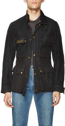Belstaff Vintage Black Waxed Cotton Roadmaster II Jacket