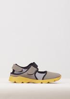Marni cement / moon / stone sneaker shoe