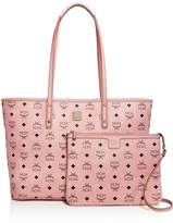 MCM Anya Logo Zip Medium Shopper Tote