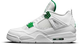 Jordan Air 4 Retro 'Metallic Pack - Pine Green' Shoes - 7.5