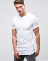 Jack and Jones Core Longline T-Shirt with Drop Hem