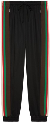 Gucci Technical jersey track bottoms